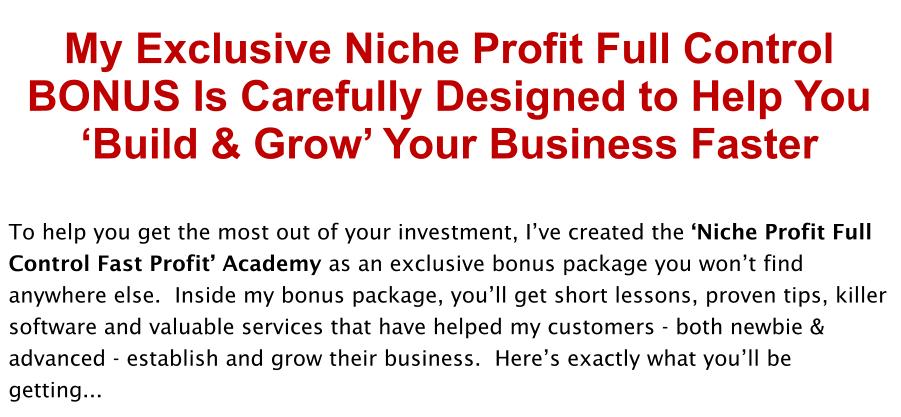 Niche-Profit-Full-Control-Review-Bonus
