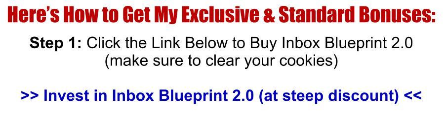Uncut inbox blueprint v20 review unique fast profit bonus inbox blueprint 20 review buynow malvernweather Gallery