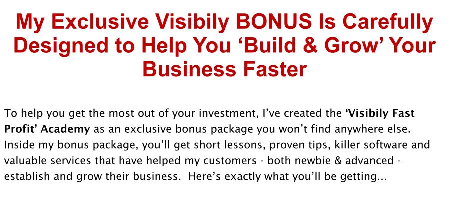 Visibily-Review-Bonus