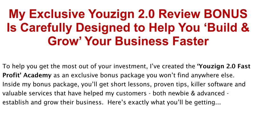 YouZign 2 Review Bonus