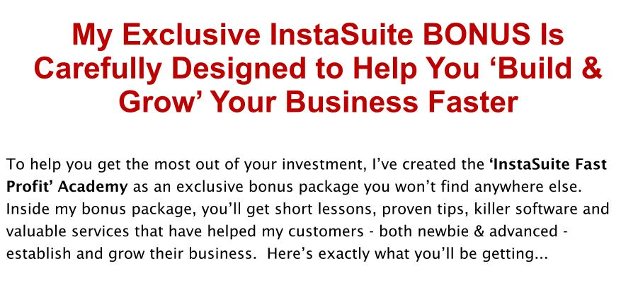 Insta Suite Bonus Review