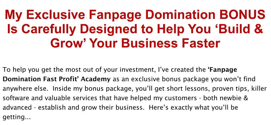 Fanpage-Domination-Review-Bonus